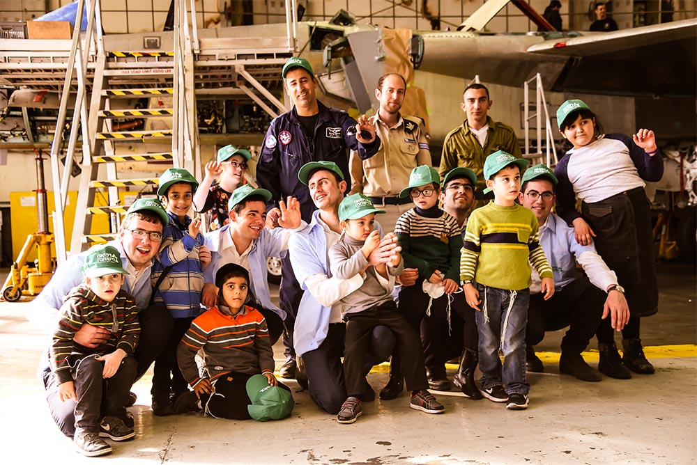 Trip to Tel Nof Air Base
