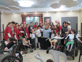 Shabbos at the Jerusalem Respite Home