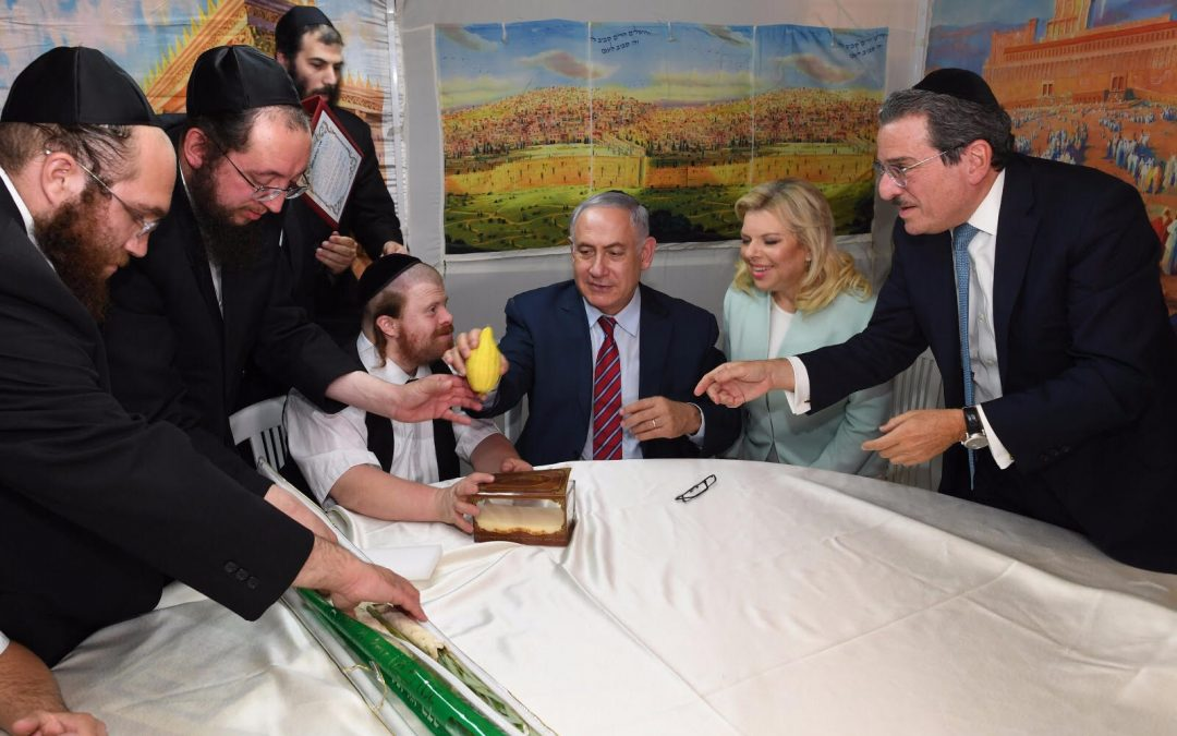 Project Refuah's Children Visit Prime Minister Before Succos